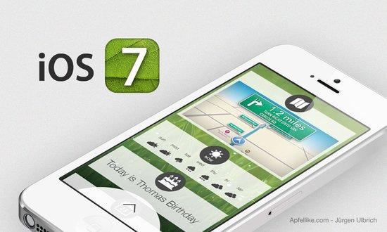 iOS 7绚丽有余实用不足 乔布斯遗训成耳旁风